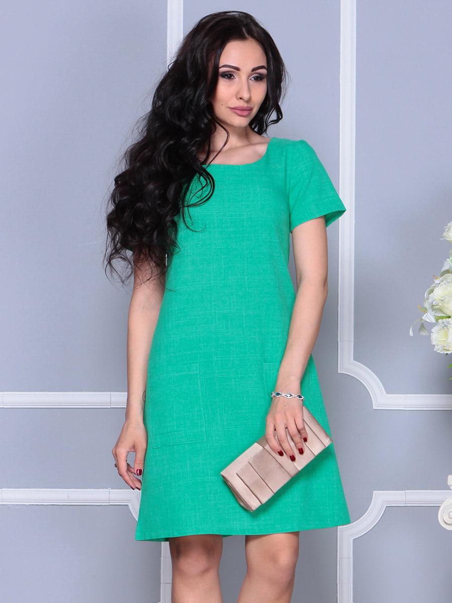 Платье зеленое | 4297706