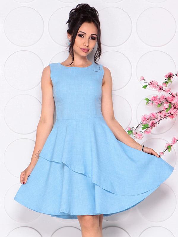 Платье голубое | 4297721 | фото 3