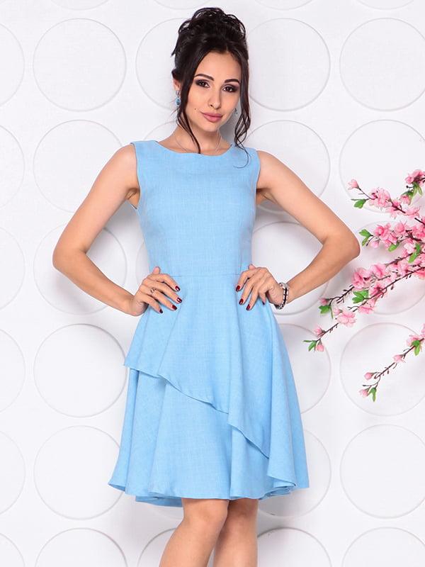Платье голубое | 4297721 | фото 4
