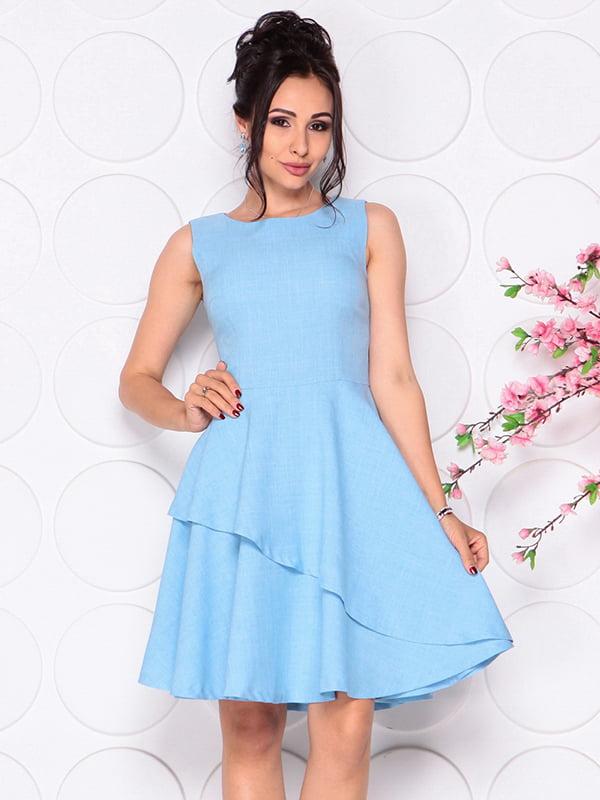 Платье голубое | 4297721 | фото 5