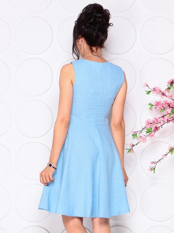 Платье голубое | 4297721 | фото 2