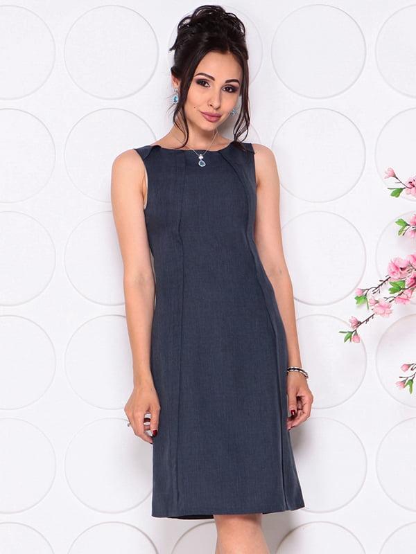 Платье темно-синее | 4297722