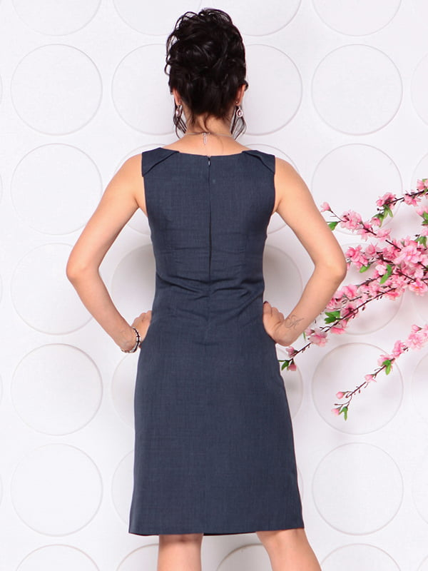 Платье темно-синее | 4297722 | фото 2