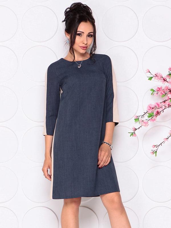 Платье темно-синее | 4297729 | фото 4