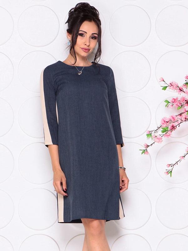 Платье темно-синее | 4297729 | фото 5