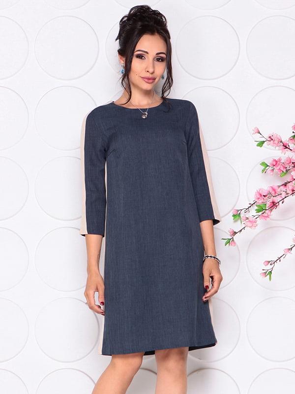 Платье темно-синее | 4297729
