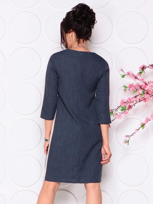 Платье темно-синее | 4297729 | фото 2