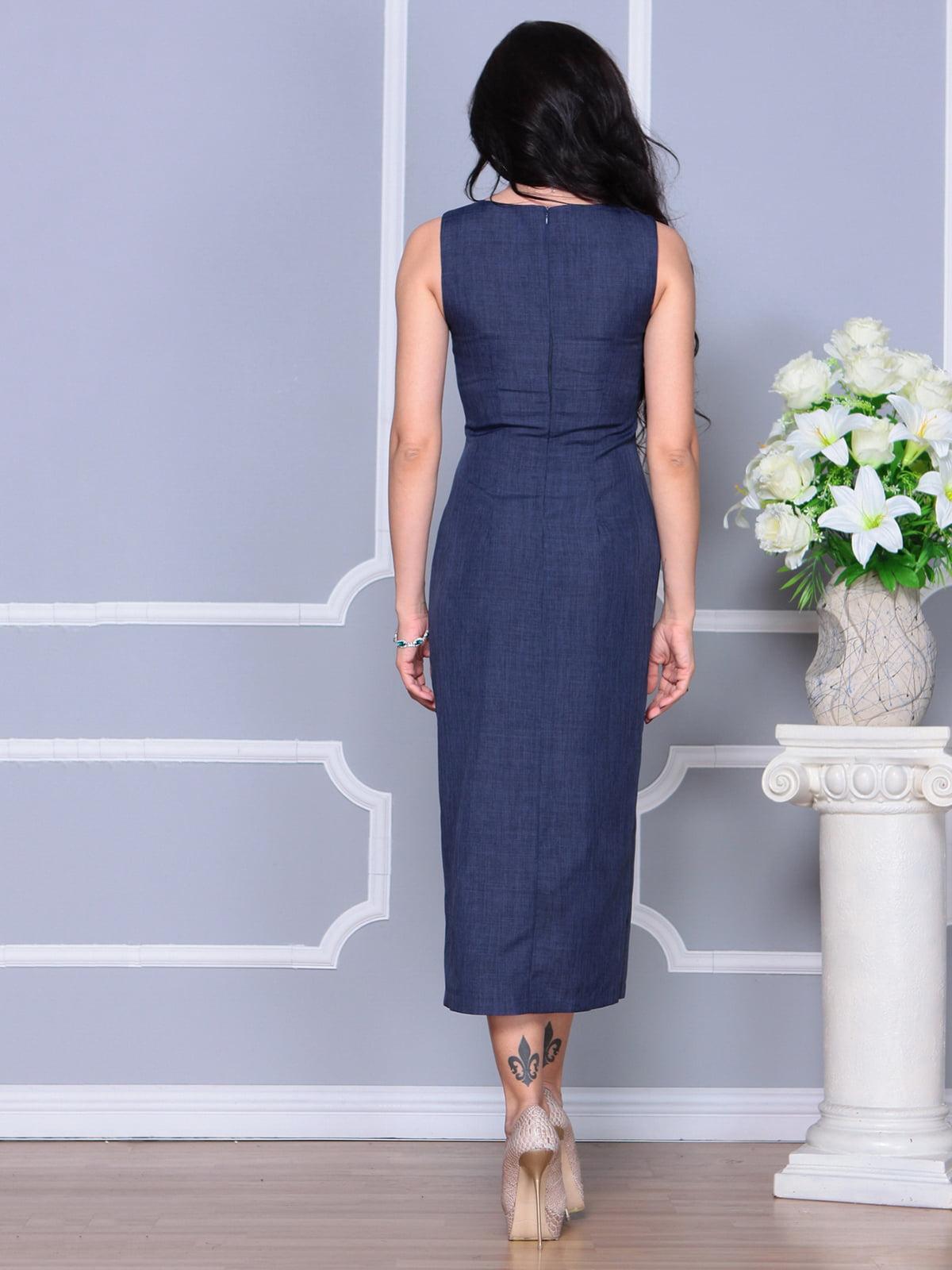 Платье темно-синее | 4297731 | фото 2
