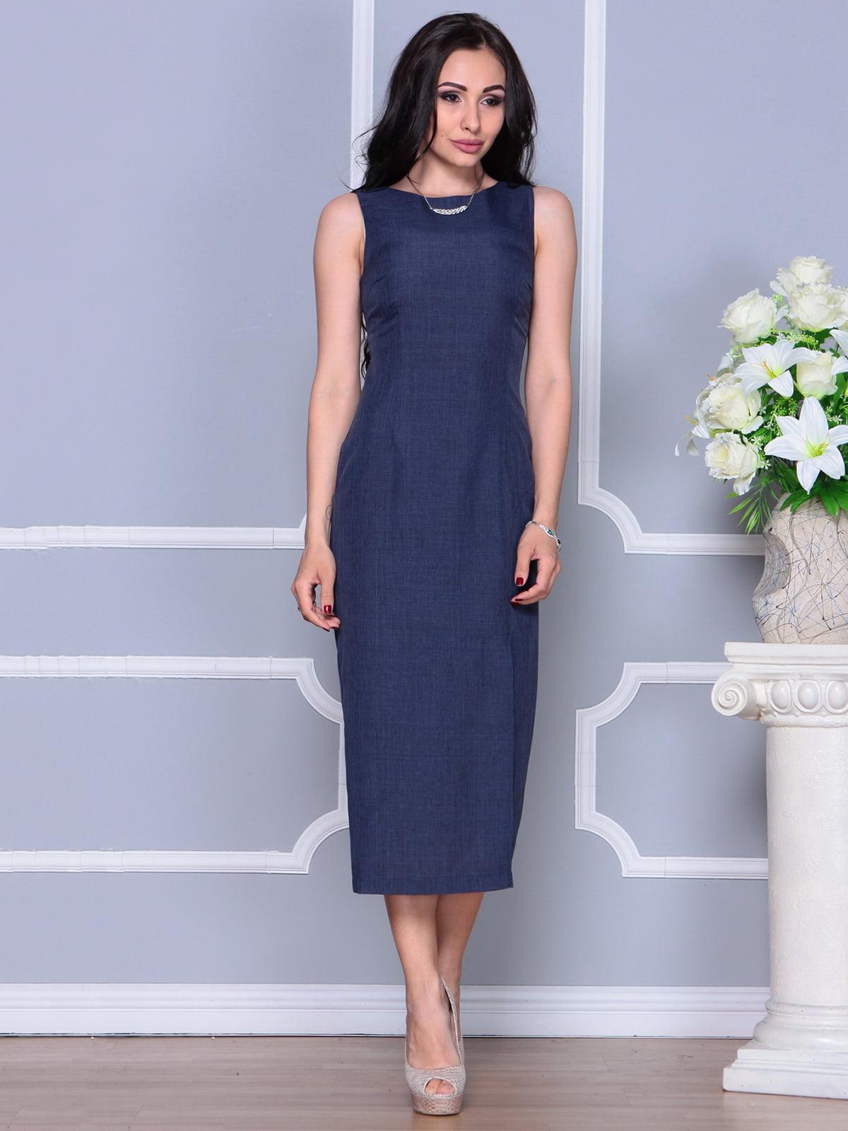 Платье темно-синее | 4297731 | фото 4