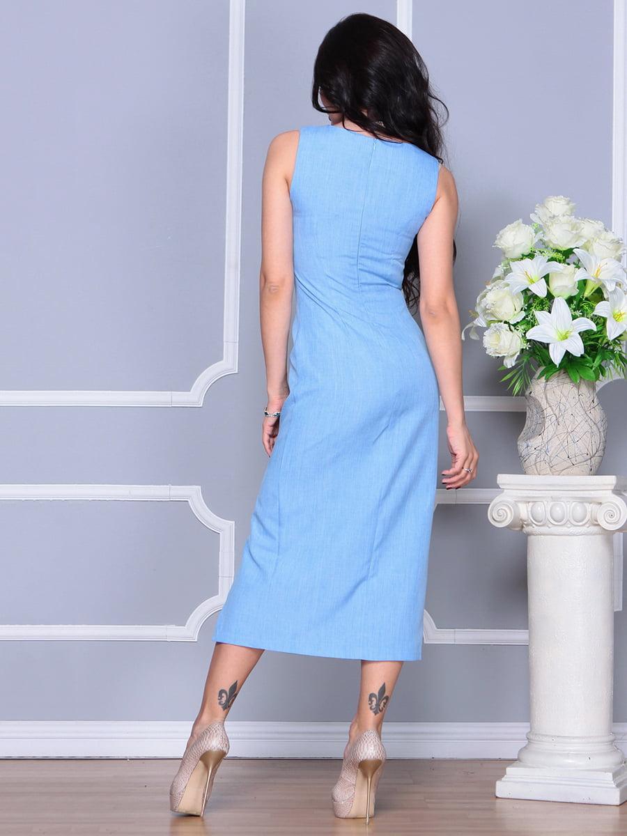 Платье голубое   4297732   фото 2