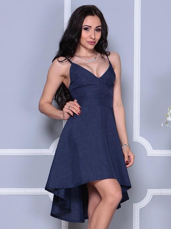 Платье темно-синее | 4297735