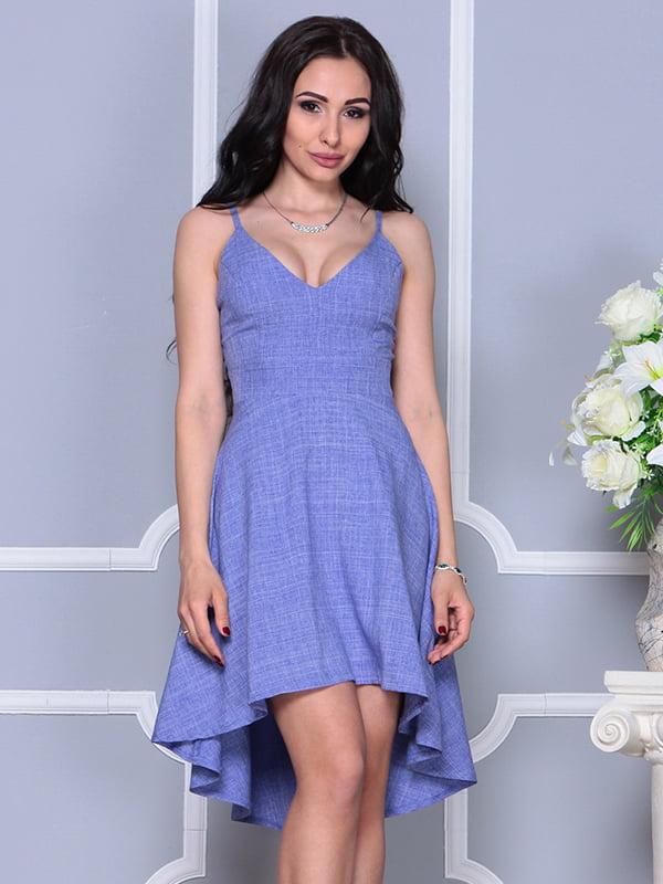 Платье фиолетовое | 4297737 | фото 3