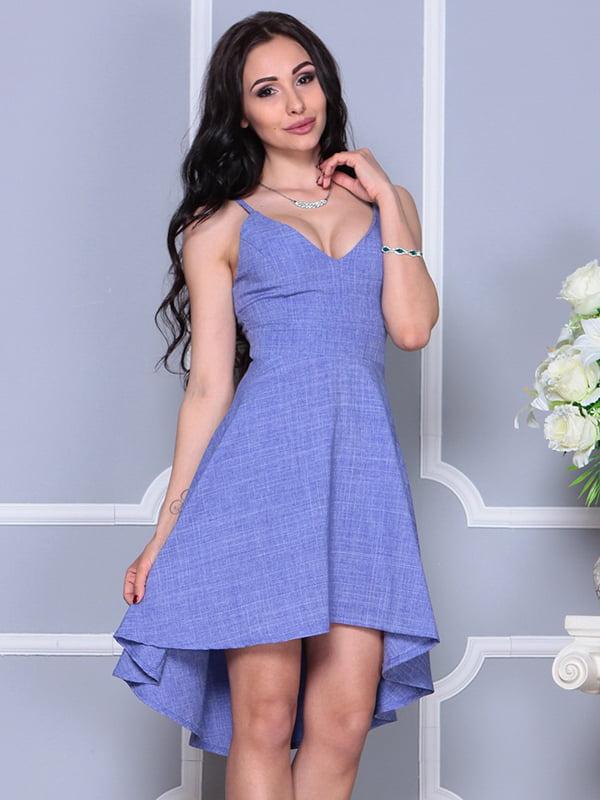 Платье фиолетовое | 4297737 | фото 4