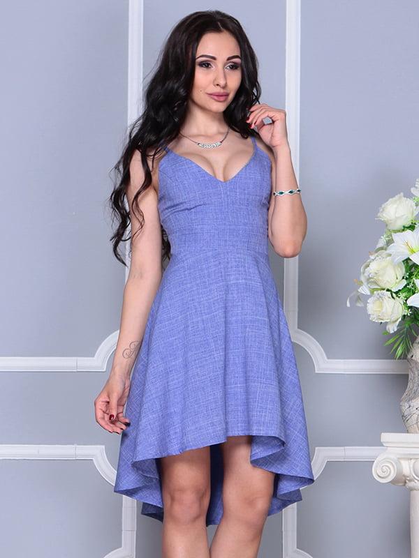 Платье фиолетовое | 4297737 | фото 5