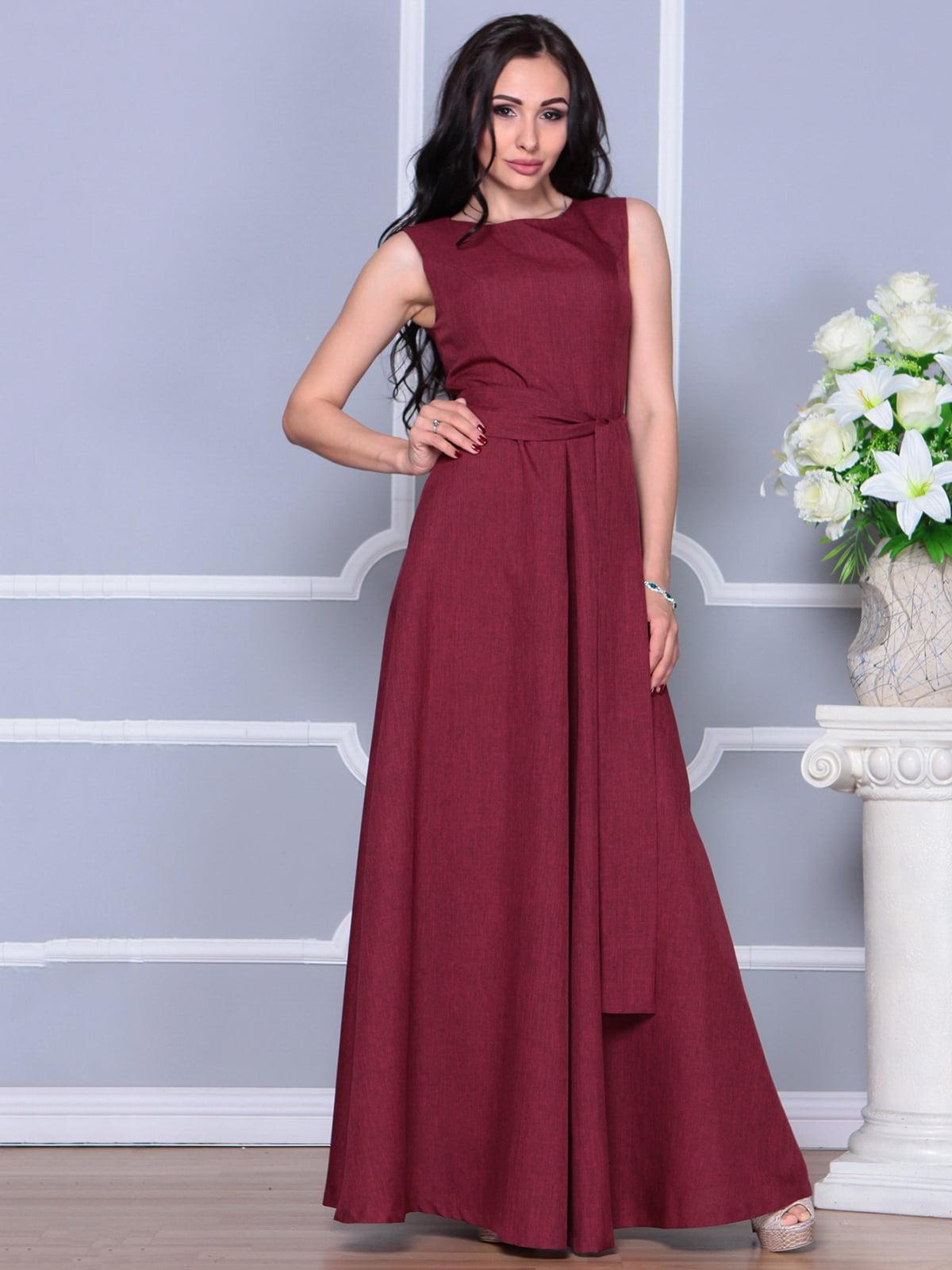 Платье светло-сливовое   4297745   фото 4