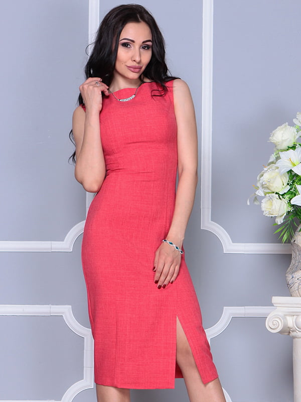 Платье цвета красный коралл | 4297747