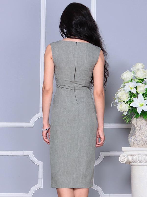 Платье темно-оливковое | 4297749 | фото 2