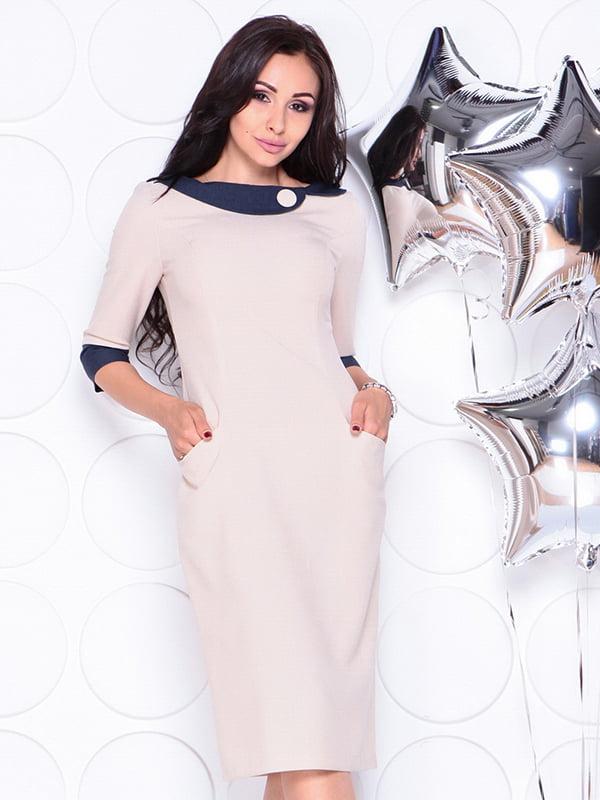 Платье бежевое | 4311714