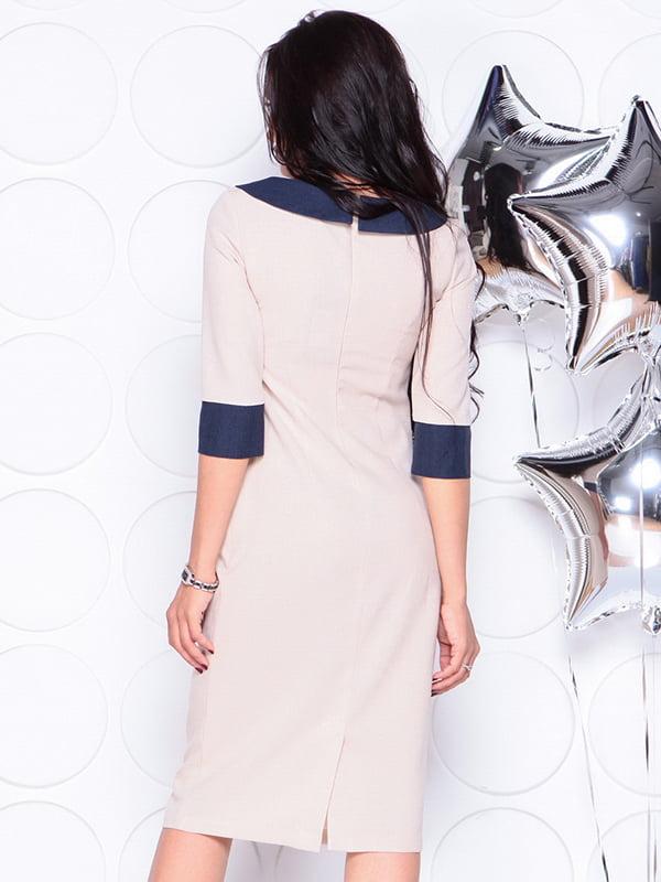 Платье бежевое   4311714   фото 2