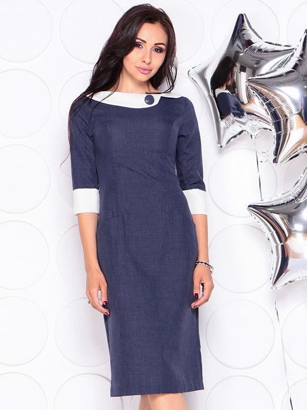 Платье темно-синее | 4311715