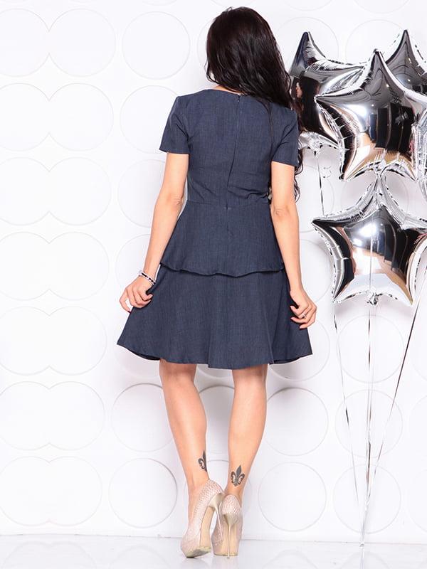 Платье темно-синее | 4314691 | фото 2