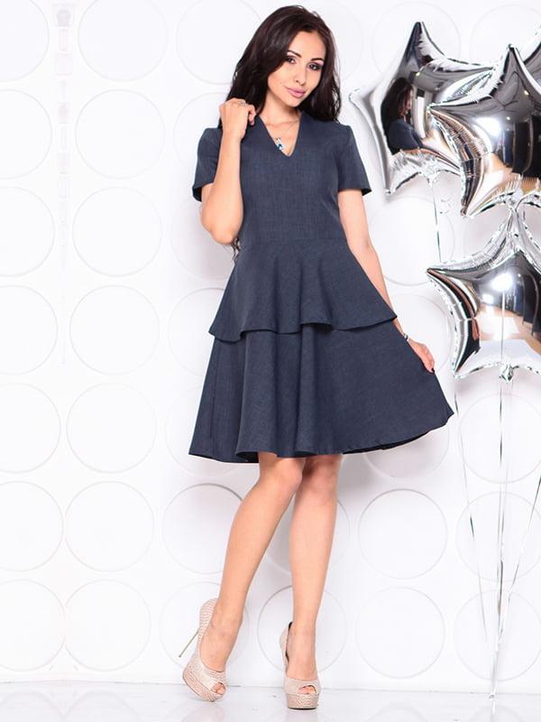 Платье темно-синее | 4314691 | фото 4