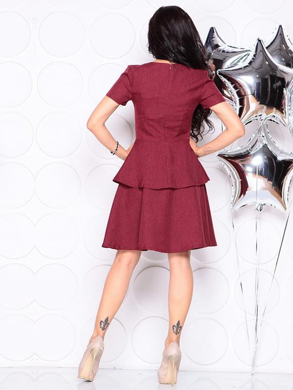 Платье светло-сливового цвета | 4314692 | фото 2