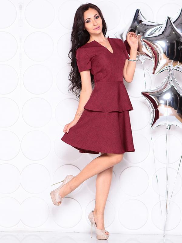 Платье светло-сливового цвета | 4314692 | фото 3