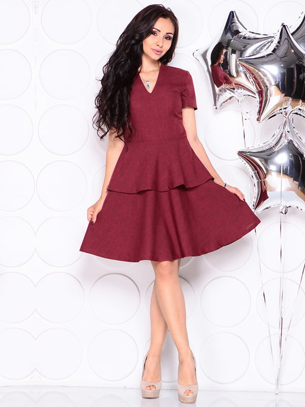 Платье светло-сливового цвета | 4314692 | фото 4