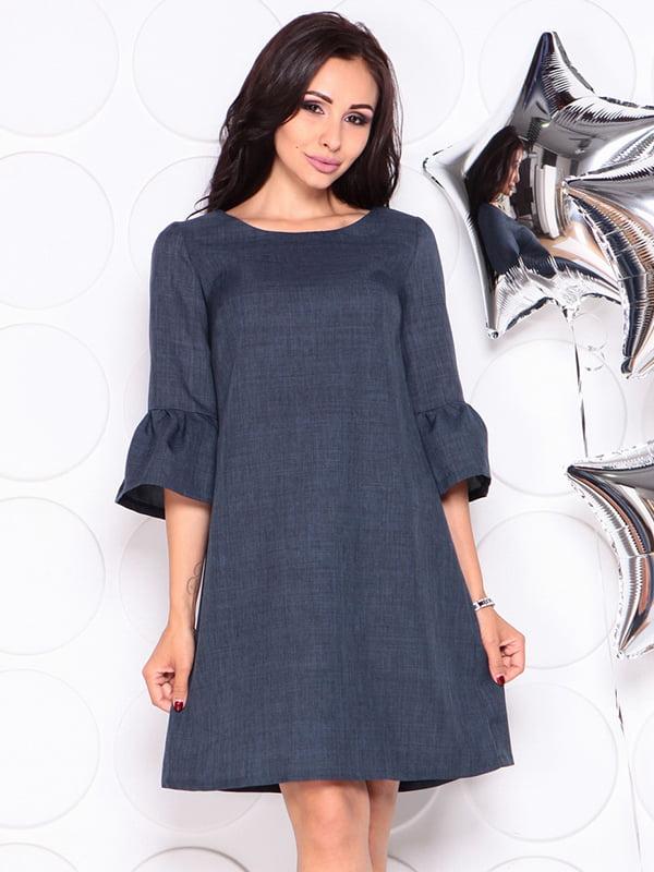 Платье темно-синее | 4314709
