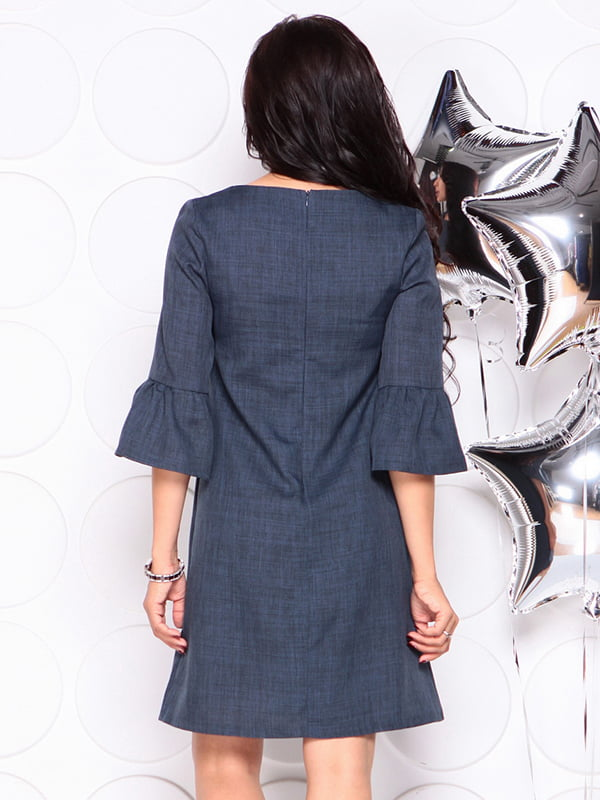 Платье темно-синее | 4314709 | фото 2