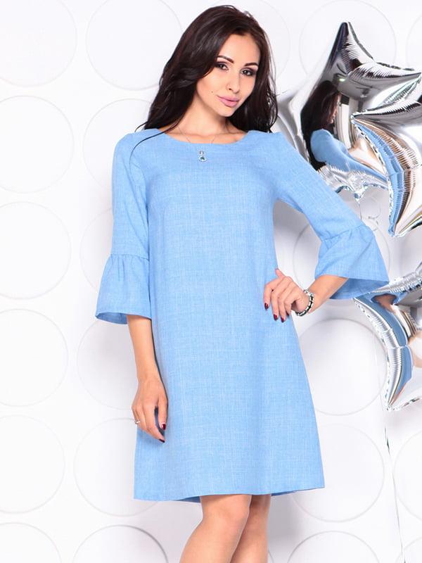 Платье голубое | 4314710