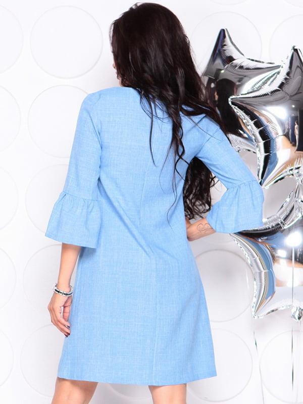 Платье голубое | 4314710 | фото 2