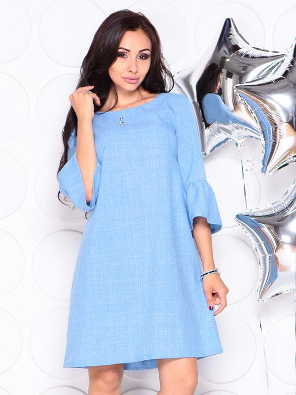 Платье голубое | 4314710 | фото 3