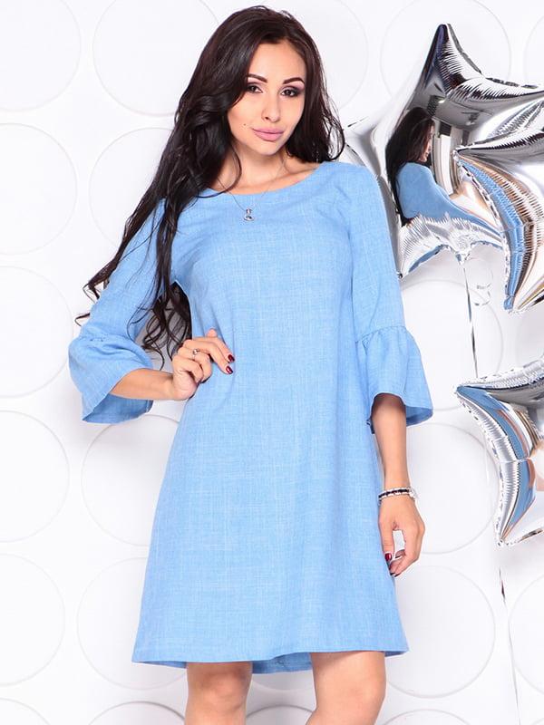Платье голубое | 4314710 | фото 4