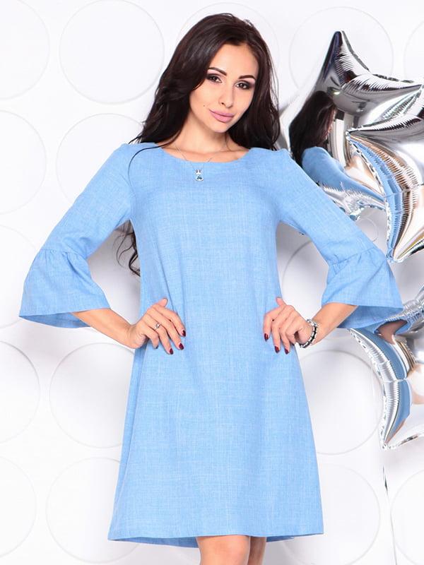 Платье голубое | 4314710 | фото 5