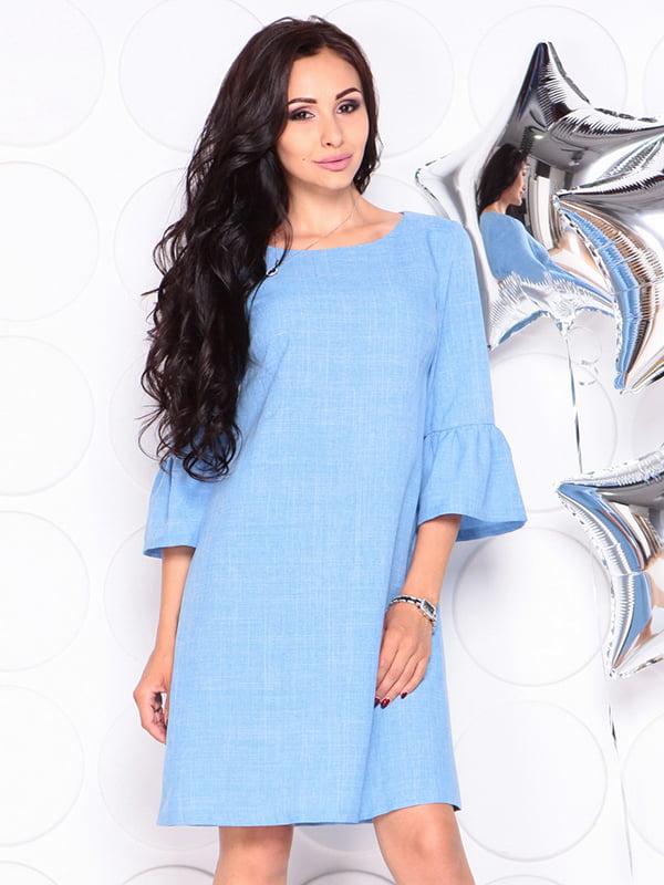 Платье голубое | 4314710 | фото 6
