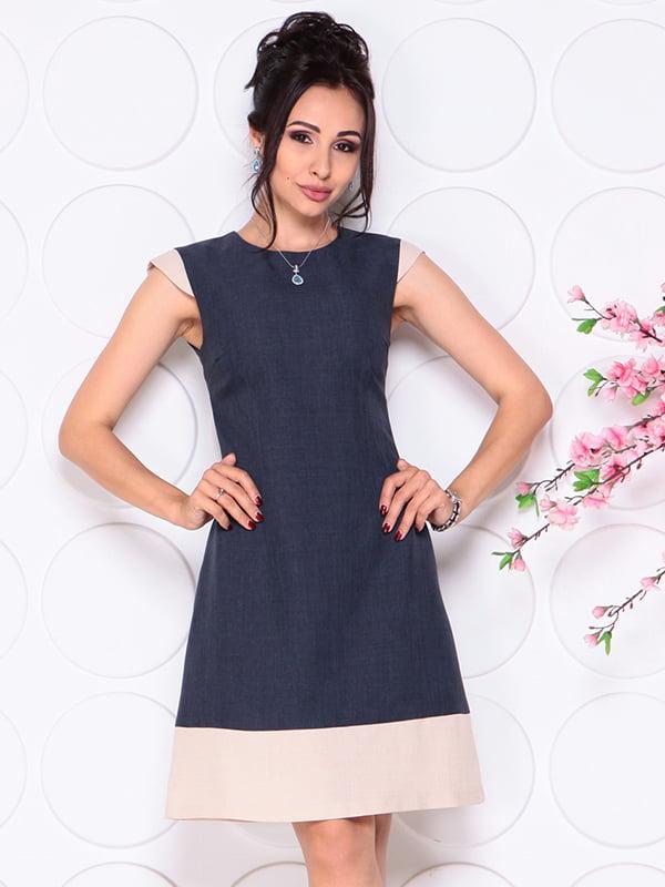 Платье темно-синее | 4314711