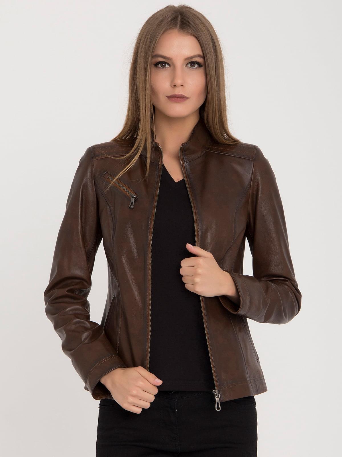 Куртка коричневая | 4313896 | фото 2