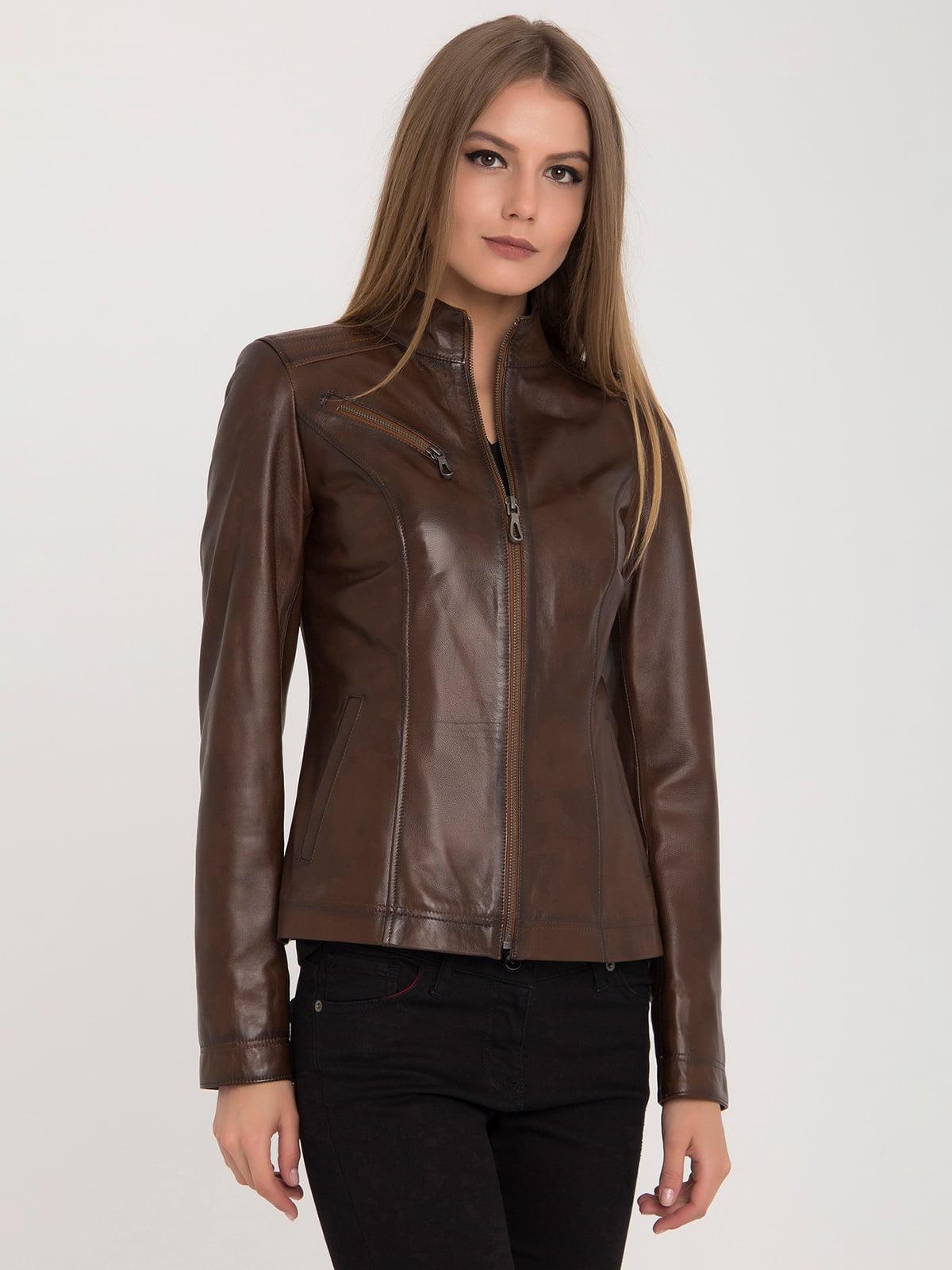 Куртка коричневая | 4313896 | фото 3