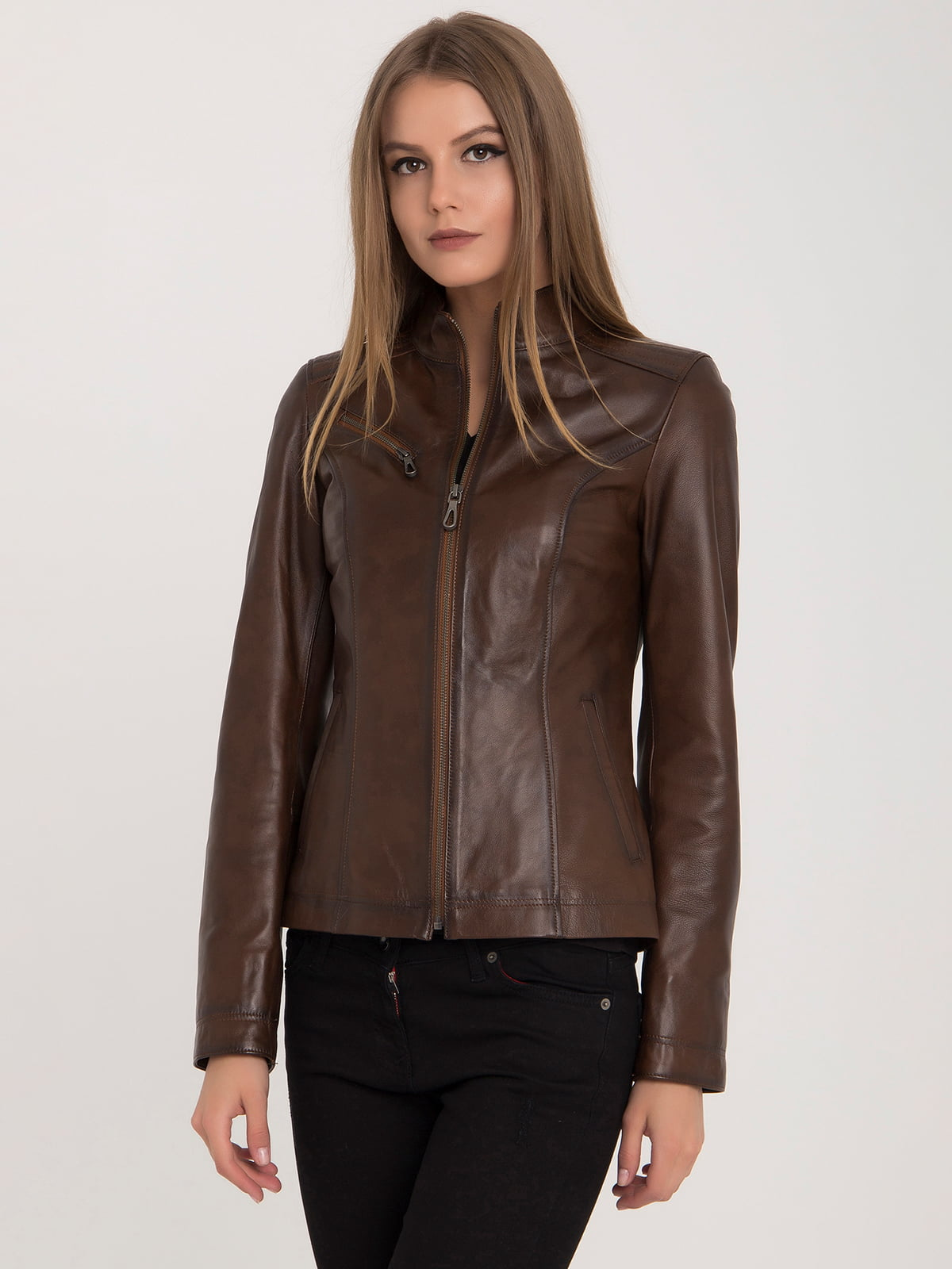 Куртка коричневая | 4313896 | фото 4