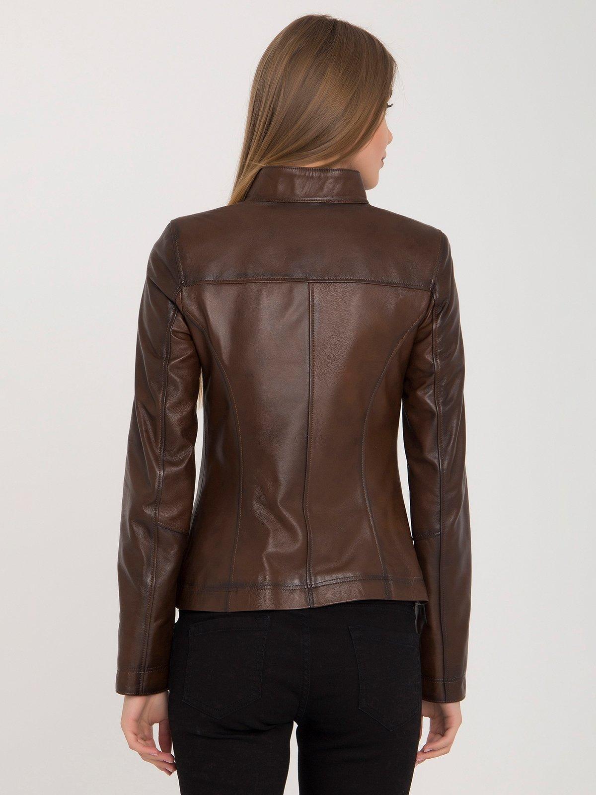 Куртка коричневая | 4313896 | фото 5