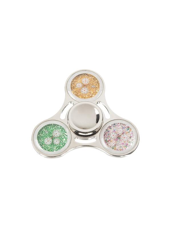 Спінер Clock Face — срібло | 4324348