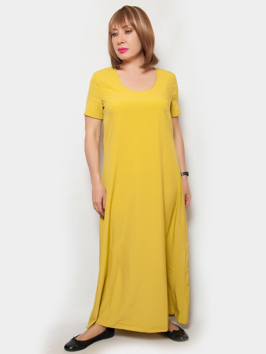 Сукня гірчичного кольору | 4324367 | фото 2