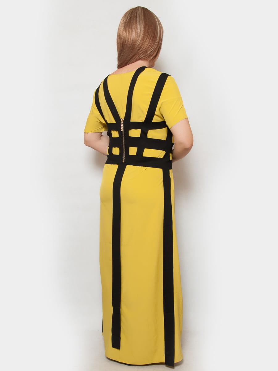 Сукня гірчичного кольору | 4324367 | фото 3