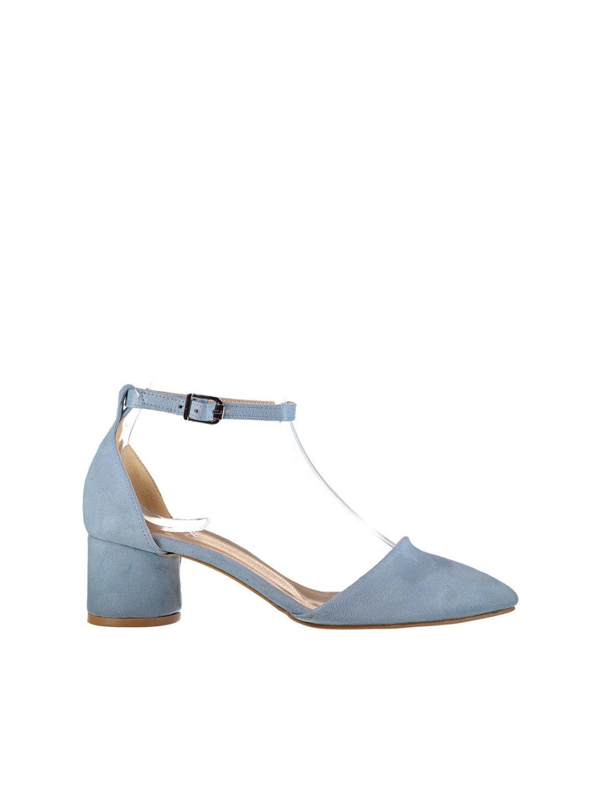 Туфли голубые   4325754