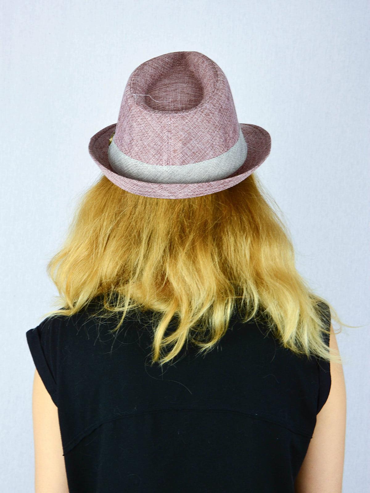 Шляпа сиреневая | 4326401 | фото 2