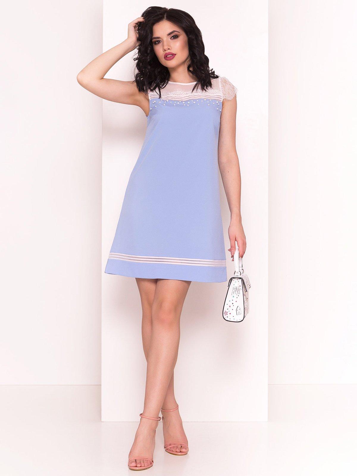 Сукня блакитна | 4326556