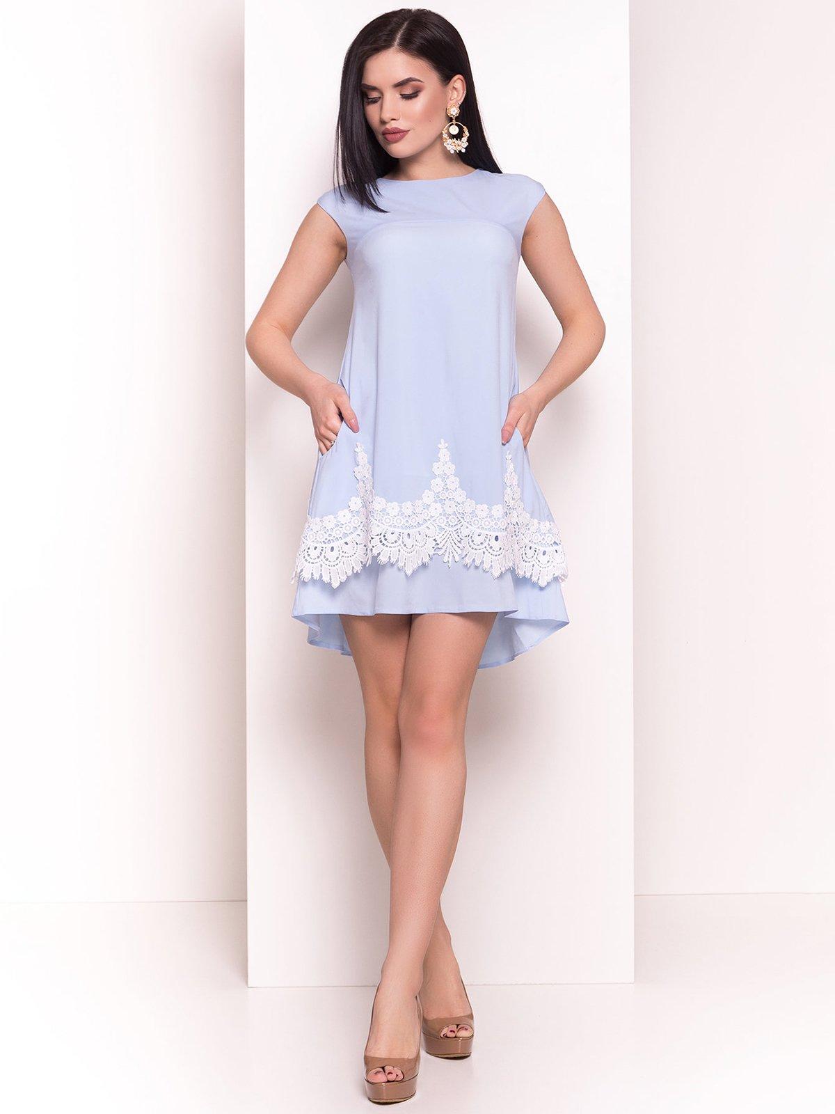 Сукня блакитна   4326561