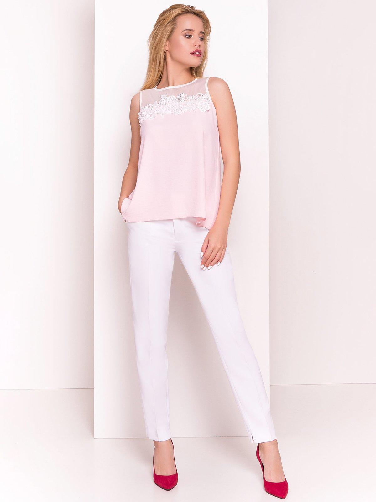 Блуза світло-рожева | 4326562